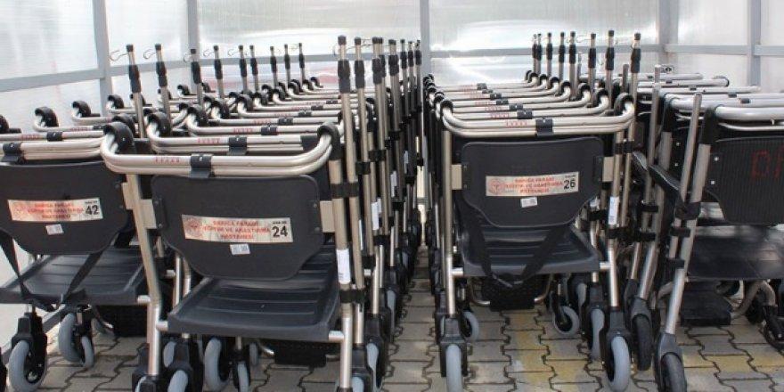 Farabi'ye 50 tekerlekli sandalye