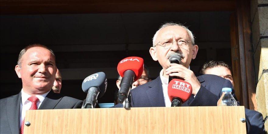 Türkiye'nin her tarafında huzur olmasını istiyoruz