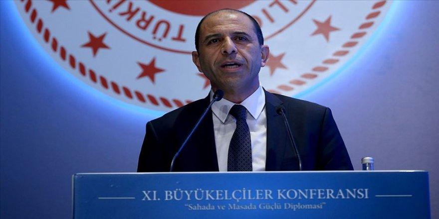 Özersay: Kıbrıs'ta federal ortaklığın şartları mevcut değil