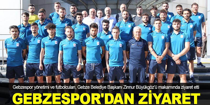 Büyükgöz Gebzespor'u ağırladı