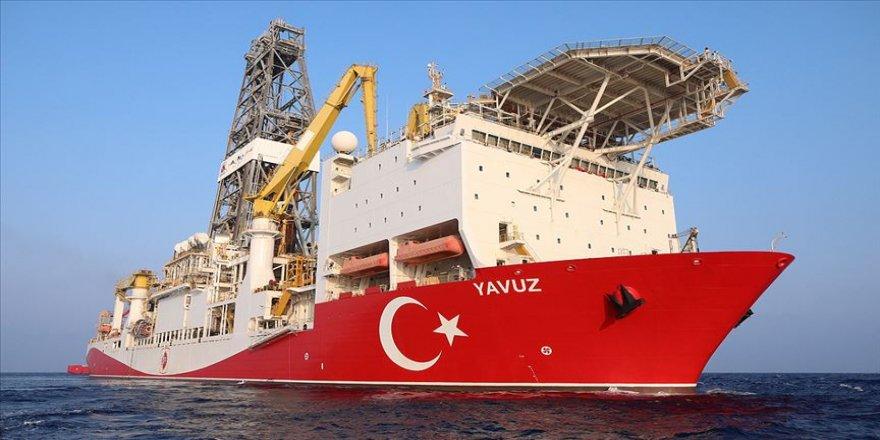Yavuz Doğu Akdeniz'de sondaja başladı