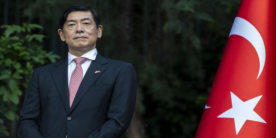 'Çavuşoğlu Japonya'nın yabancılara verdiği en yüksek nişan ile taltif edildi'