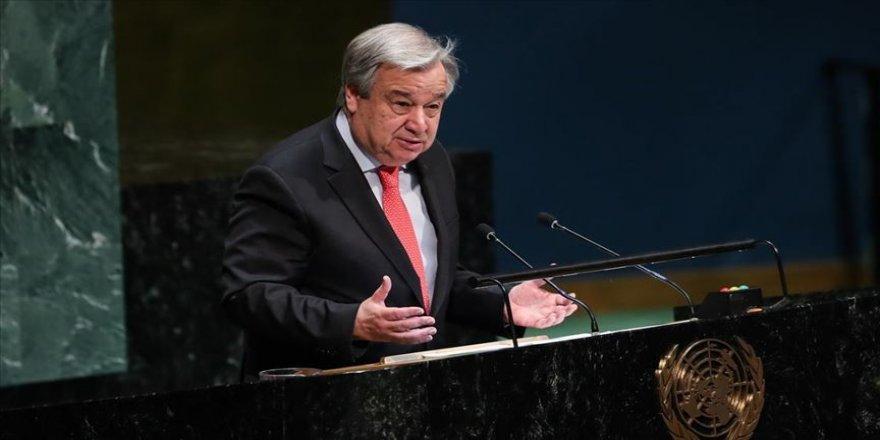 Guterres: Cammu Keşmir sorunu barışçıl yollarla çözülmeli