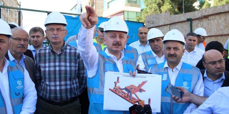 Metro projesi, bakanlığa devredildi