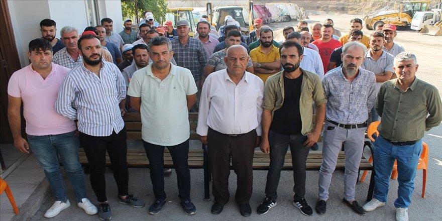 HDP'li belediyenin işten çıkardığı işçilerden eylem