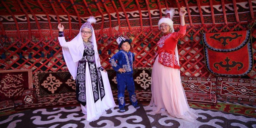 Kapadokya'daki 'Kırgız Obası'nda Türk kültürünü tanıtıyorlar