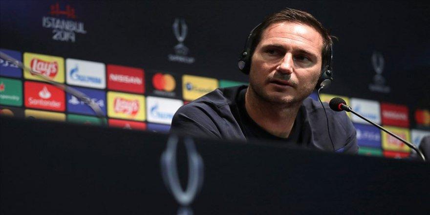 Lampard: UEFA Süper Kupa maçını kazanacağımıza inanıyorum