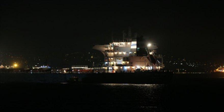 Marmara'da gemi kazası