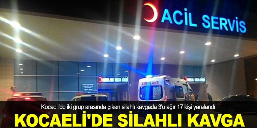 Kocaeli'de silahlı kavga