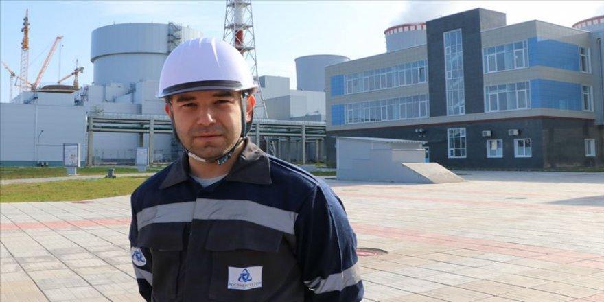 Genç Türk mühendisler Akkuyu NGS'de iş başı yapıyor