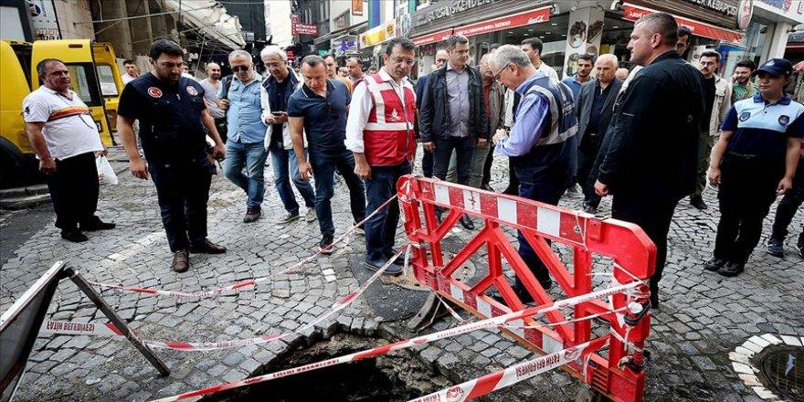 İmamoğlu, yağıştan zarar gören yerleri inceledi