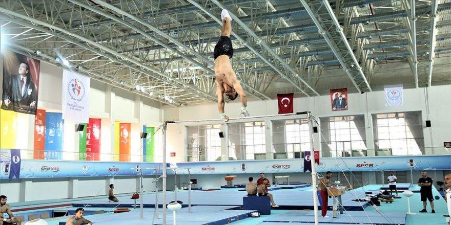 Milli cimnastikçiler Tokyo için umutlu