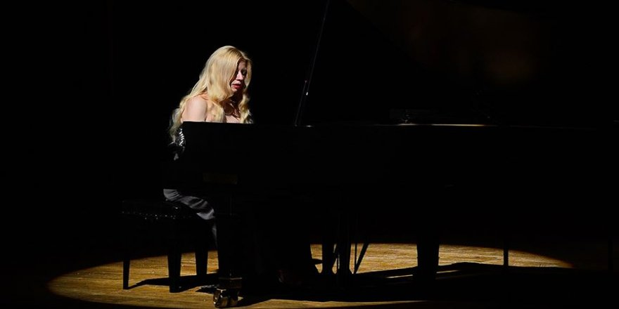 Valentina Lisitsa 'İstanbul Resitalleri'ne konuk olacak
