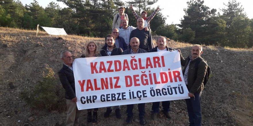 CHP Gebze, Kaz Dağları'nda