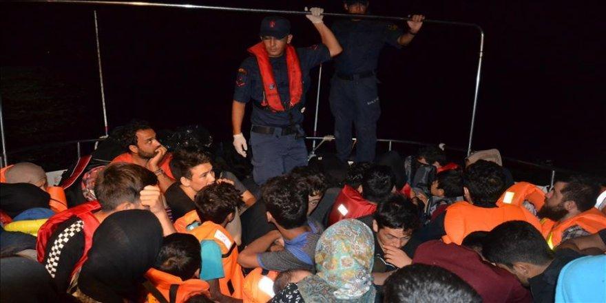 469 düzensiz göçmen yakalandı
