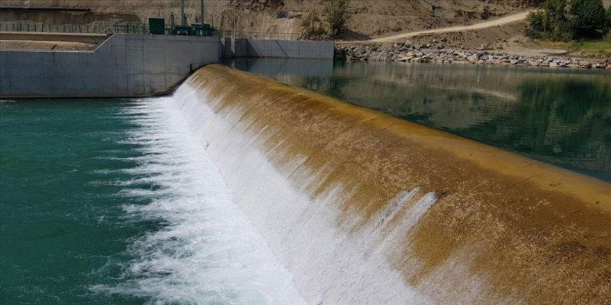 Göksu Çayı'nın suyu Gaziantep'e ulaştı