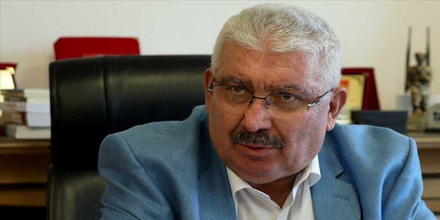 MHP Genel Başkan Yardımcısı Yalçın: Gül ve Davutoğlu'nun tavrı PKK'ya verilmiş zımni bir destek