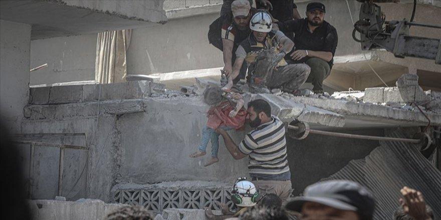 İdlib'de 26 Nisan'dan bu yana 843 sivil öldürüldü