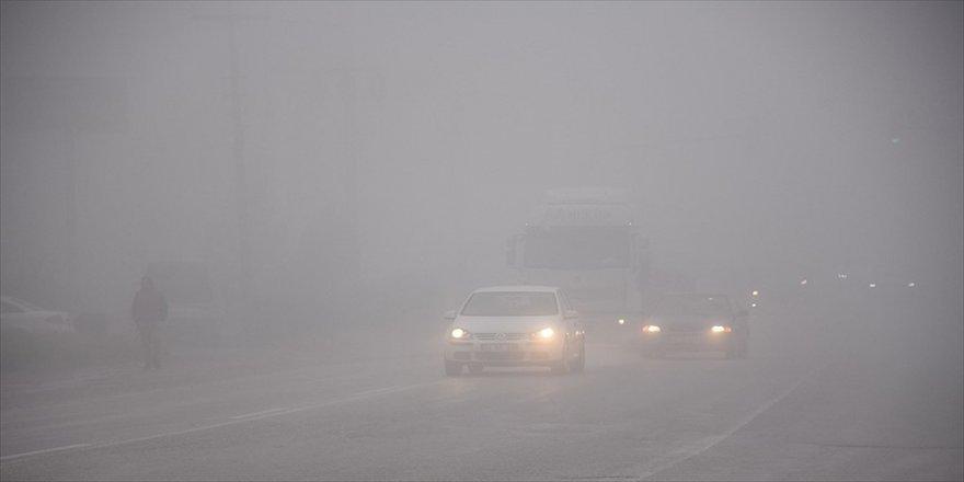 Gebze güne sisli başladı