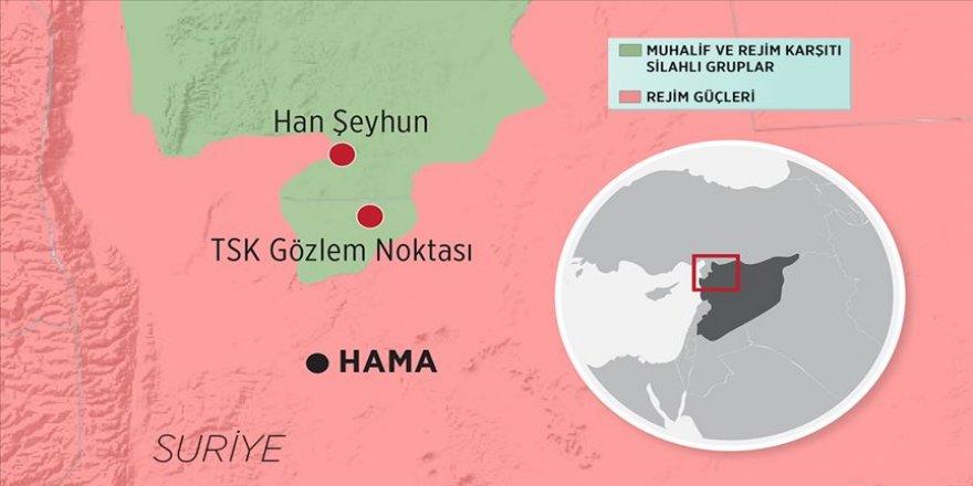 Esed rejimi Rusya'nın desteğiyle Han Şeyhun'u ele geçirdi