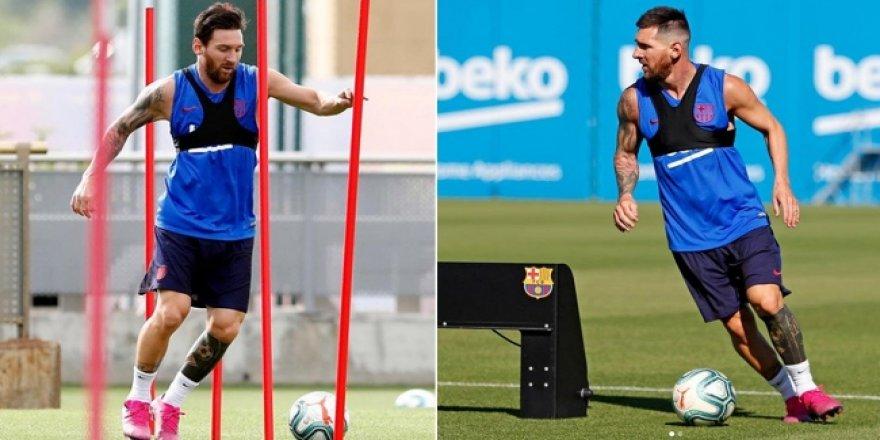 Messi'ye özel antrenman