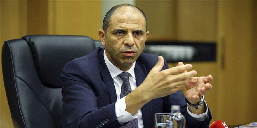 KKTC Dışişleri Bakanı Özersay: Doğu Akdeniz'de bozulan dengenin tekrar kurulduğu noktadayız