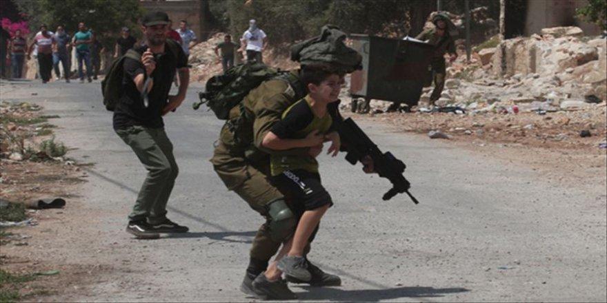 İsrail güçleri Batı Şeria'daki gösteriye müdahale etti
