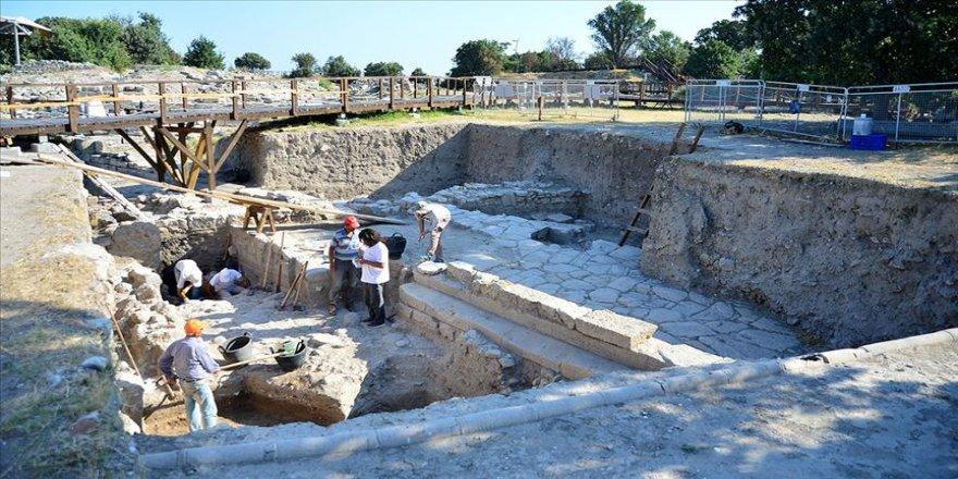 Troya kazısında 'üçüncü kutsal alan' keşfi