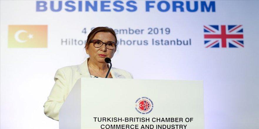 Pekcan: Türk-İngiliz dostluğu devam edecek