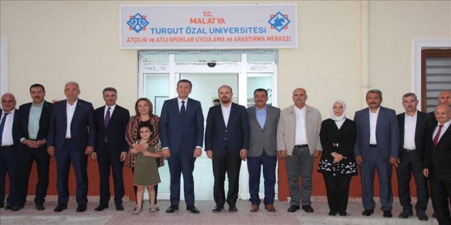 Bakan Selçuk ve Bilal Erdoğan Malatya'da