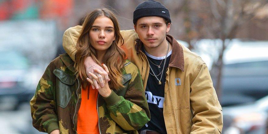Brooklyn Beckham ile Hana Cross ayrıldı