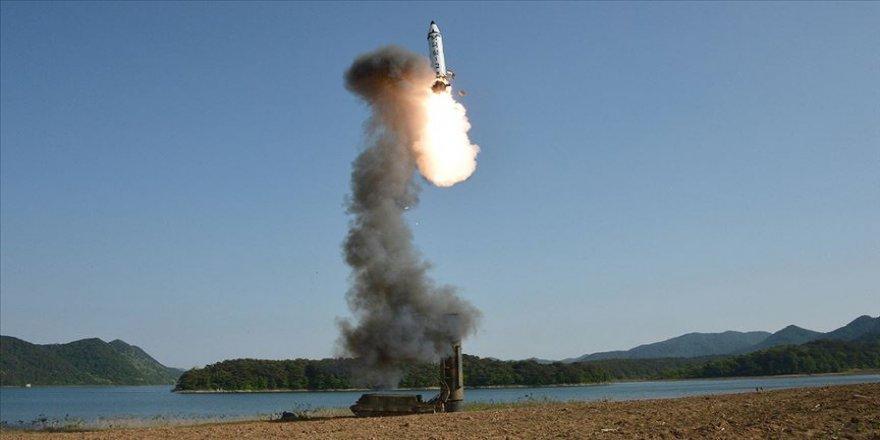 Kuzey Kore kısa menzilli füze denedi