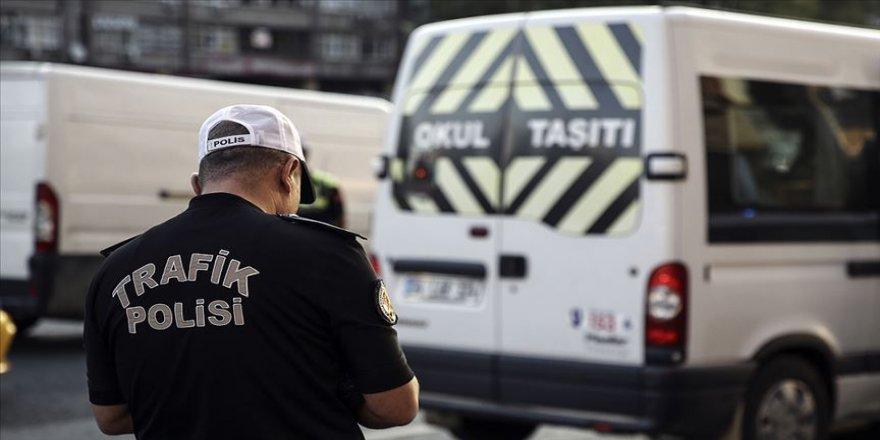 Servis araçlarına ceza yağdı