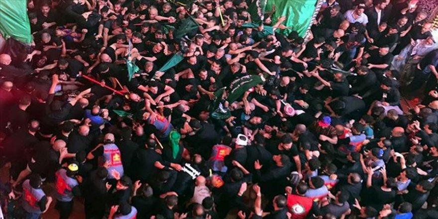 Irak'ta aşure merasiminde izdiham: 31 ölü