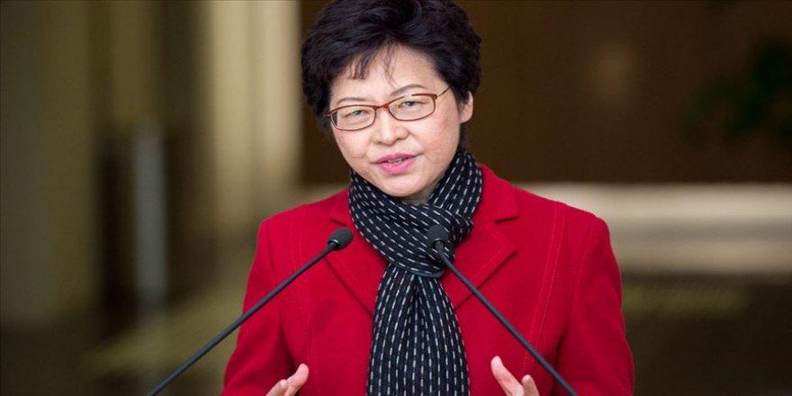 Hong Kong yönetiminden ABD'ye 'iç işlerine müdahale' tepkisi