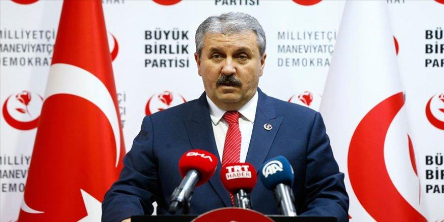 Teröre destek veren siyasi parti kapatılır