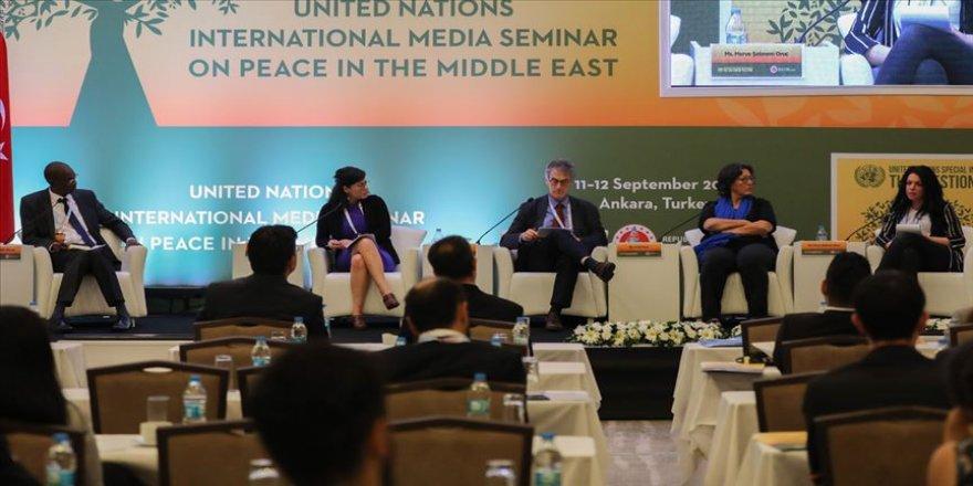 Orta Doğu'da Barış Konulu Uluslararası Medya Semineri düzenlendi