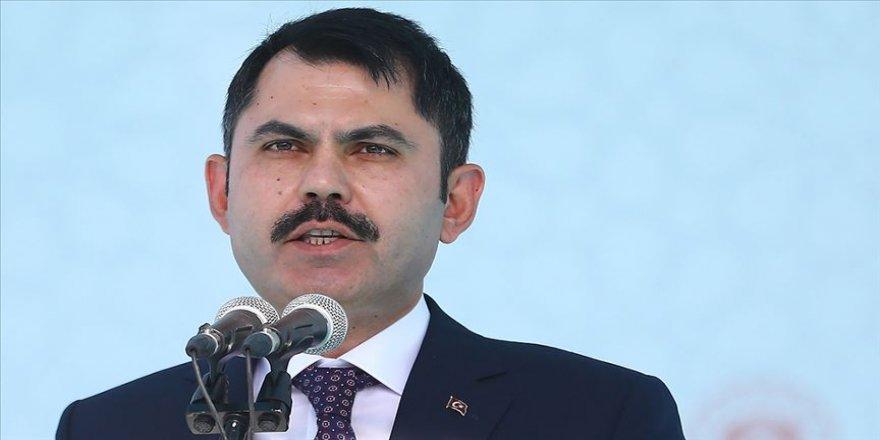 Çevre ve Şehircilik Bakanı Kurum: 1,5 milyon konutun dönüşümü 5 yıl içerisinde yapılacak