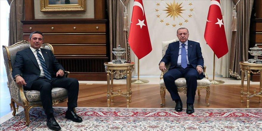 Erdoğan ile Ali Koç bir araya geldi