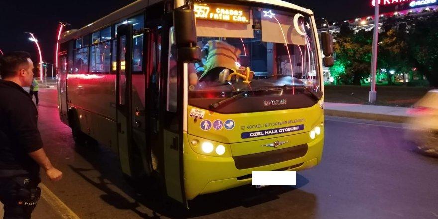Gebze'de sürücülere ceza yağdı