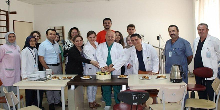 Farabi'de fizyoterapistler unutulmadı