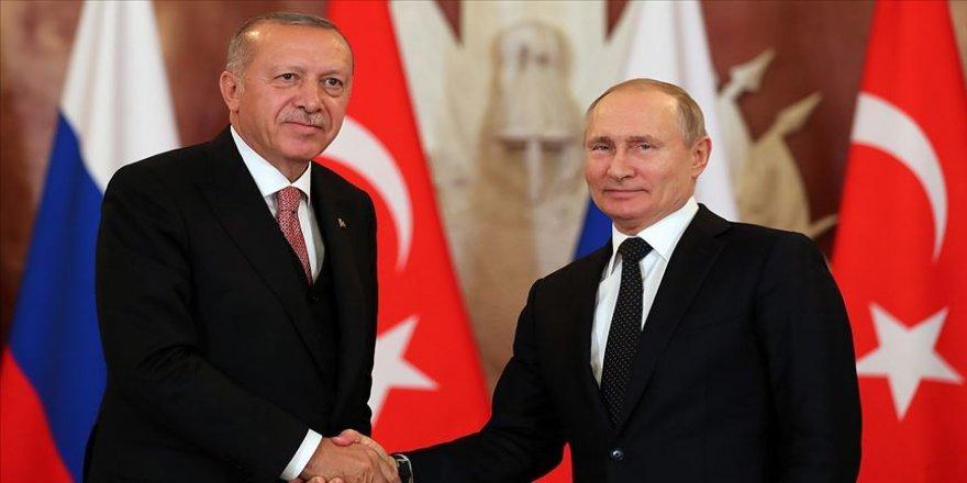 Erdoğan-Putin görüşmesi öncesi açıklama