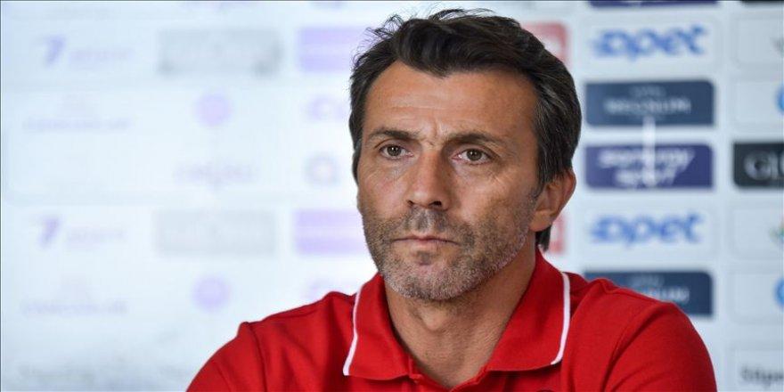 Antalyaspor Teknik Direktörü Bülent Korkmaz: Doğru yoldayız ve iyi oynuyoruz
