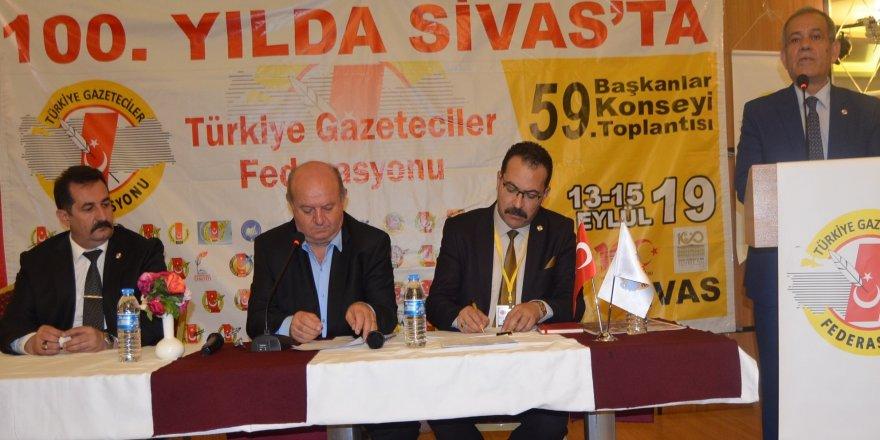 TGF 59. Başkanlar Konseyi Sivas'ta gerçekleştirildi