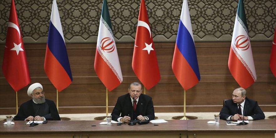 Suriye için çözüm yolları beşinci kez Üçlü Zirve Toplantısında ele alınıyor