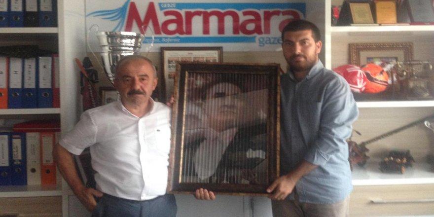 Ali Kemal Aydın'dan Atatürk tablosu