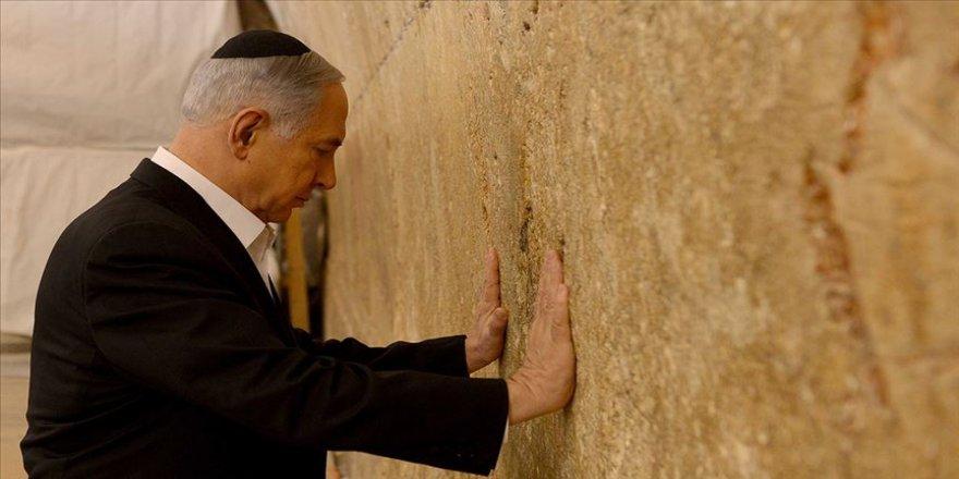 Netanyahu, Ağlama Duvarı'nı ziyaret etti