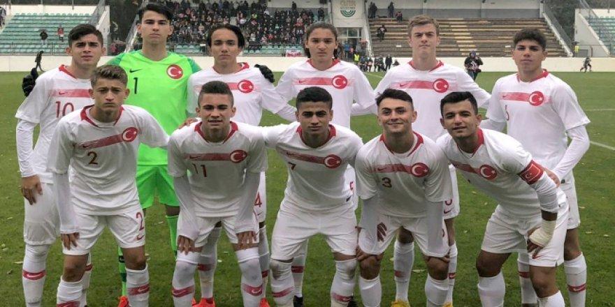 U16 Milli Takımı Polonya'ya 1-0 yenildi