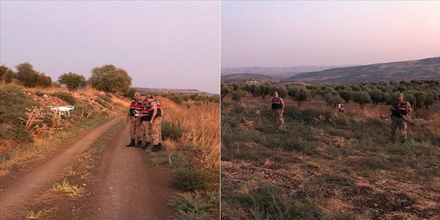Kaybolan yaşlı adam drone yardımıyla bulundu