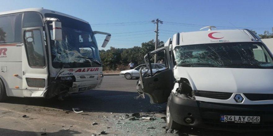 Çayırova  trafik kazası